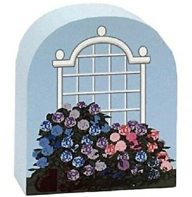 Cat's Meow Village Keepsake Nature Hydrangea Bushes #17-233 NEW SHIPPING DISC