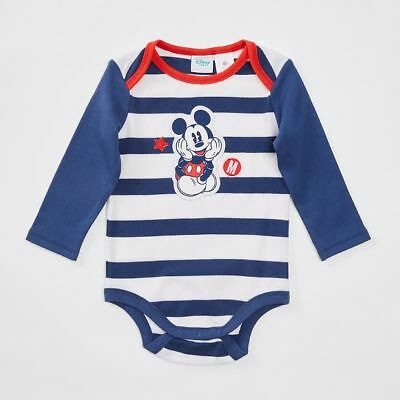 Disney Baby Mickey Mouse Long Sleeve Bodysuit