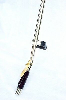 """CARPET CREVICE TOOL 48"""" WAND - Stainless Steel - 1.5"""" Tube, Internal Jet"""