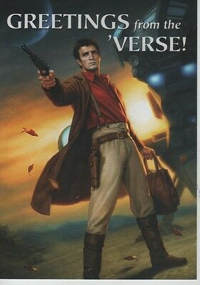 Serenity movie Firefly Television show 2016 SDCC Dark Horse Comic post card
