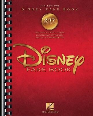 The Disney Fake Book - 4th Edition PVG *NEW* Sheet Music, 240 Songs, Piano
