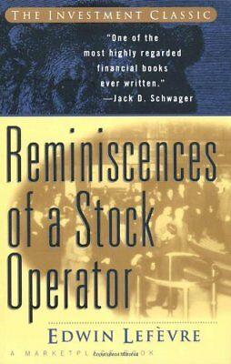 Reminiscences of a Stock Operator (A Marketplace Book)-Edwin Lefèvre