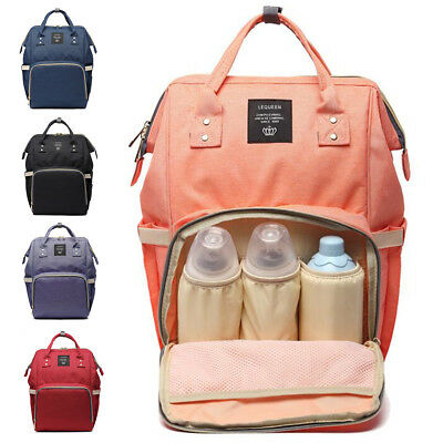 Chic Mummy Travel Backpack Large Capacity Maternity Nappy Travel Diaper Baby Bag