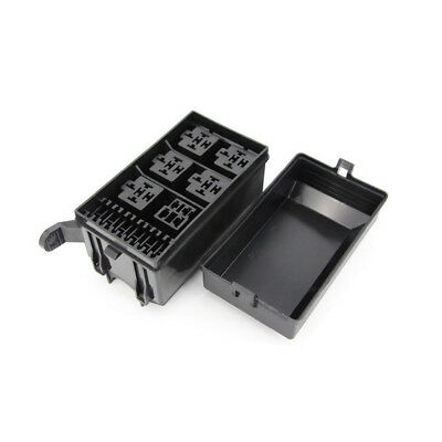6 Ways Auto fuse box assembly With terminals and fuse, Auto Relays Box