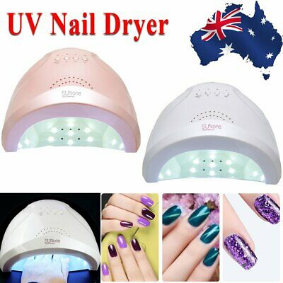 48W Art Acrylic UV Nail Dryer Gel Polish LED Curing Lamp Light Manicure Machine