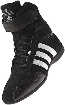 adidas Feroza Elite FIA Approved Race Boot Black/White