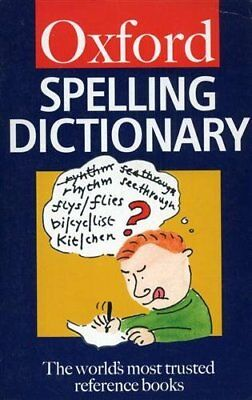 The Oxford Spelling Dictionary (Oxford Paperback Reference)-Maurice Waite