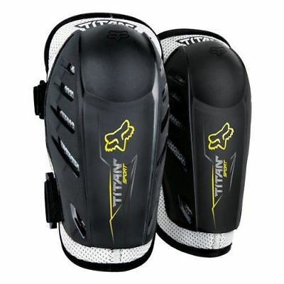 New Fox Racing 2019 YOUTH TITAN SPORT ELBOW GUARDS BLACK