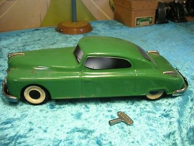 Arnold Auto Coupe Blech Uhrwerk Schlüssel US Zone Germany Tin Car Tole Latta