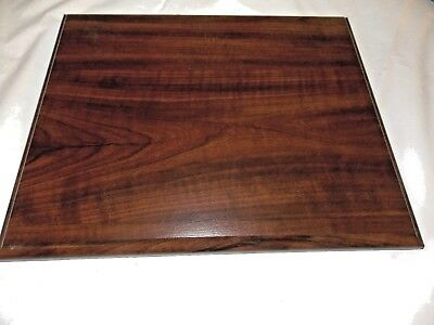 """WALNUT FINISH WOOD PLAQUE for your project 10.5 X 13""""  (LOT300)"""