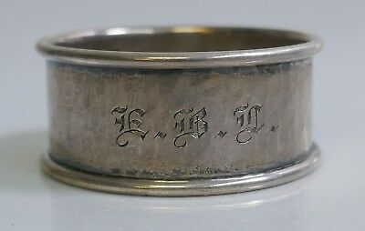 Antique Arts & Crafts Marshall Field Co. Sterling Hand Hammered Napkin Ring