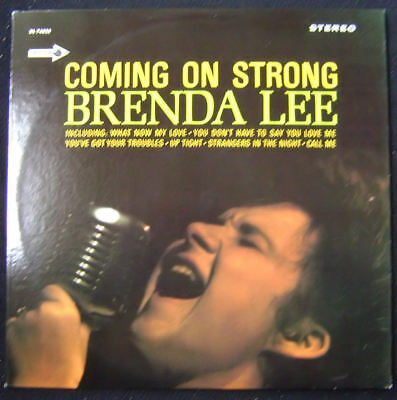 BRENDA LEE-  COMING ON STRONG- Decca DL 74825 LP