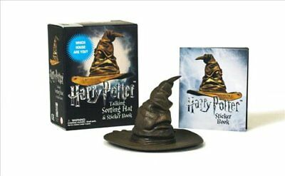 Harry Potter Talking Sorting Hat and Sticker Book Which House A... 9780762461769