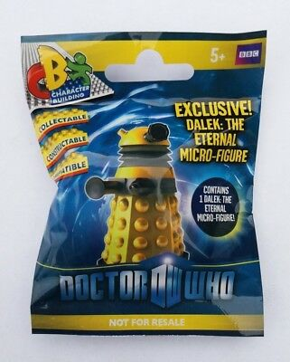 LOT 5x BBC DR DOCTOR WHO DALEK THE ETERNAL MICRO FIGURE CHARACTER BUILDING NEW