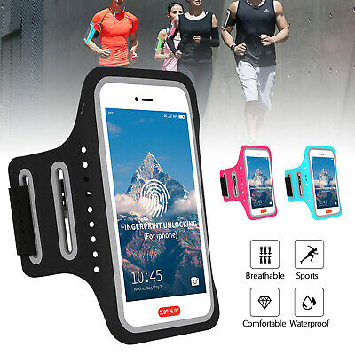Armband Bag Sports Exercise Running Jogging Gym Cell Phone Holder Case Pouch New