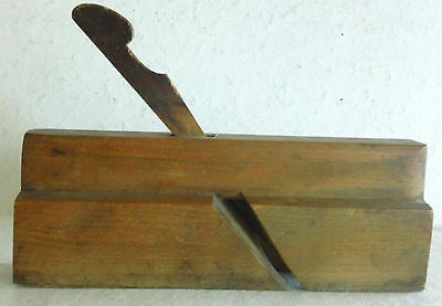 Antique Quarter Round Moulding Plane, Beautiful Patina, Needs a Cutter Blade