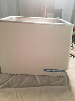 Bransonic ultrasonic cleaner 220. Great condition.