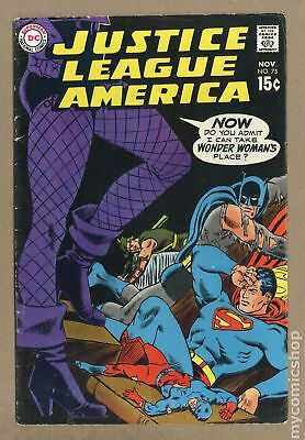 Justice League of America (1st Series) #75 1969 VG- 3.5