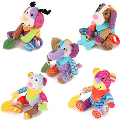 Kid Baby Crib Hanging Rattles Stroller Car Seat Toy Ringing Doll