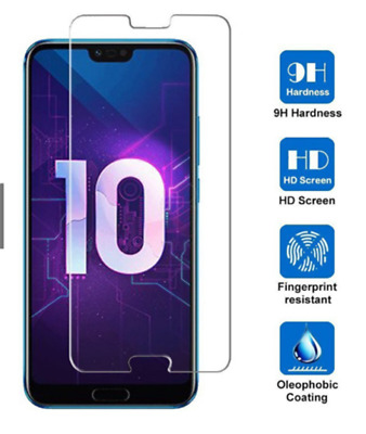 3D Full Covered Tempered Glass Screen Protector  Cover For Huawei Honor 10 New
