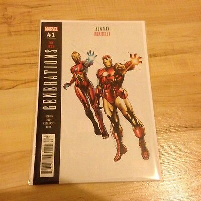 Marvel Generation The Iron Man Ironheart Bendis issue 1 variant cover RARE