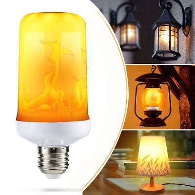 LED Fire Light Flame Effect Flickering Flame Lamp Simulated Decorative E27 Bulb