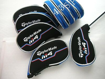 Taylormade M4 Iron Covers For Complete Protection Blue/black
