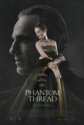 The Phantom Thread - original DS movie poster - 27x40 D/S Daniel Day-Lewis FINAL