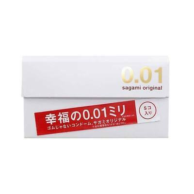 Sagami Original 001 0.01 mm Condom - 1pc, 2 pcs, 1 Box, 2 Boxes, 3 Boxes JAPAN