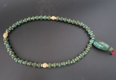 Old Chinese  jade, collectibles, Tibetan, turquoise, necklaces Y4174