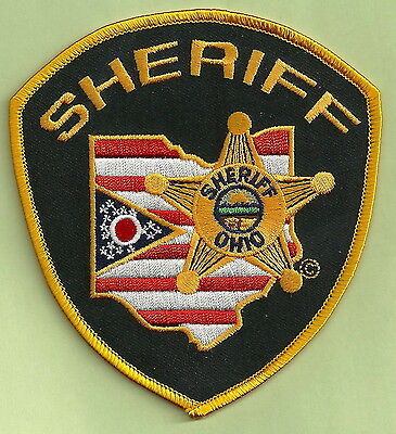 State Of Ohio Sheriff Police Patch