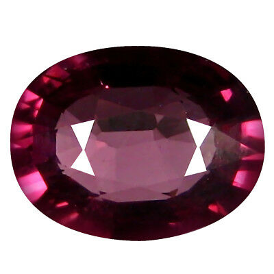1.84 ct AAA+ Marvelous Oval Shape (9 x 7 mm) Pinkish Red Rhodolite Garnet