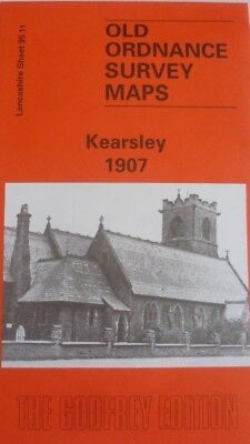 Old Ordnance Survey Maps Kearsley Lancashire 1907 & Inch Mile Map 1890 District