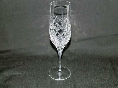 Royal Doulton Westport Champagne Flute Criss Cross Fan Free Ship