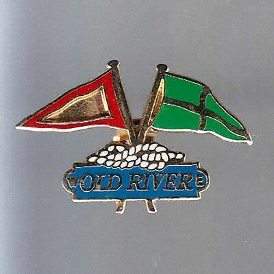 Rare Pins Pin's .. Mode Fashion Voilier Voile Old River France ~Be
