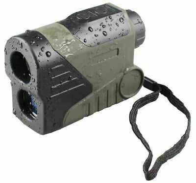 Luna Optics 6x24 Waterproof Laser Range Finder Monocular,: LD-LRF1000-OLED