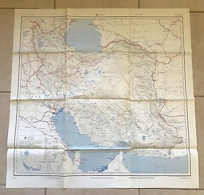 IRAN - Map - Army Map Service (AMS) - Surrounding Countries