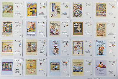 Vintage Mary Engelbreit ~ Calendar Pages for Crafts Decoupage Framing ~yr 2000