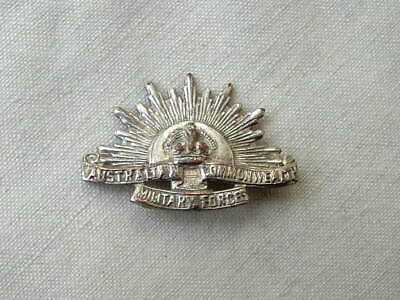 Wwi Ww1 Australian Commonwealth Military Forces Hat Or Collar Badge Medal