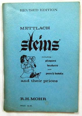 1966 METTLACH STEINS Reference Catalog – inc. Plaques, Beakers, & Punch Bowls
