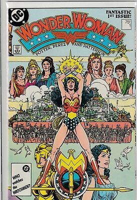 Wonder Woman #1 - 1987 - NM/NM+ COPPER AGE KEY - George Perez HIGH GRADE COPY