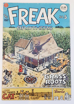 FABULOUS FURRY FREAK BROTHERS Comic (issue #5)