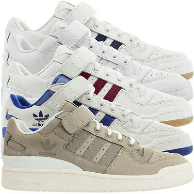 buy online 43e53 31a31 Adidas Forum Lo men s low-top sneakers casual shoes leather trainers NEW