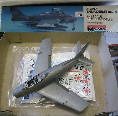 Monogram 5432 F-84F Thunderstreak 1/48 (fss123)