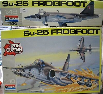 Monogram 5830 Su-25 Frogfoot 1/48 (fss126)