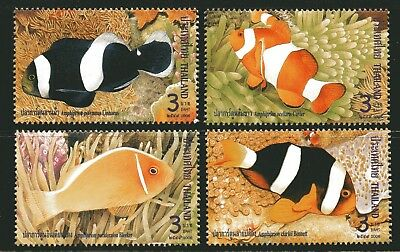Thailand 2006 Anemone Fish set of 4 Mint Unhinged