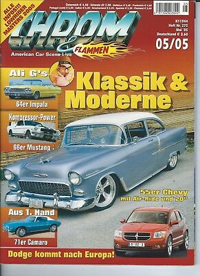 Motor Magazine CROM & FLAMMEN  featuring GERMAN CARS GERMAN LANGUAGE 106 PAGES
