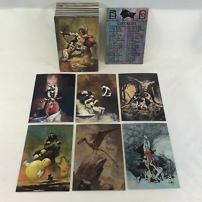 THE FANTASY ART OF JEFFREY JONES SERIES 1 (FPG/1993) Complete Trading Card Set