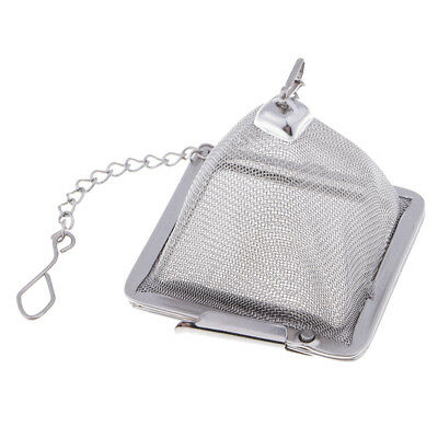 Pyramid Tea Infuser Strainer Spice Herbal Loose Leaf Coffee Filter Sieve