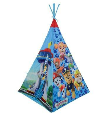 Paw Patrol Kids Teepee Outdoor Play Tent Wigmam Fabric Cover 190T Polyester